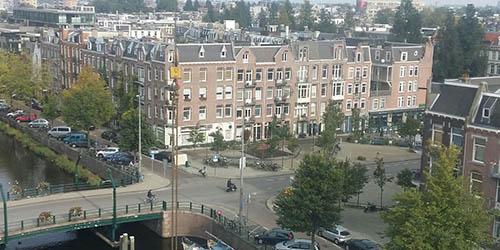Luchtfoto Kwakersplein Huisartsen